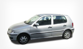 VW polo 1.4    Discount -1€ day